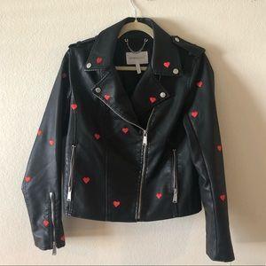 BCBG Generation Black Moro Jacket Sz M